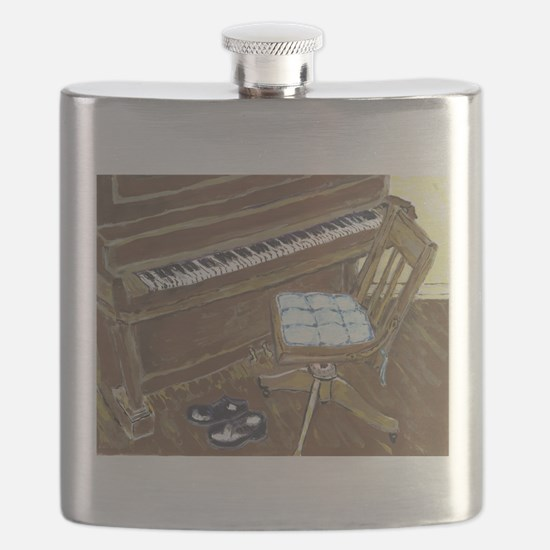 Piano and Chair Flask
