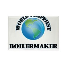 World's Happiest Boilermaker Magnets