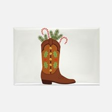 Cowboy Christmas Magnets