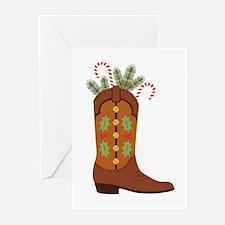 Cowboy Christmas Greeting Cards