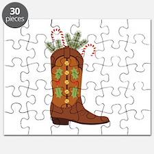 Cowboy Christmas Puzzle