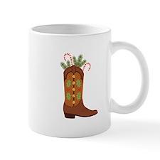Cowboy Christmas Mugs