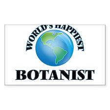 World's Happiest Botanist Decal