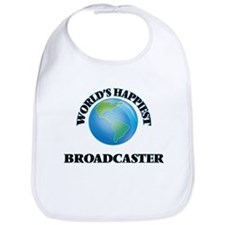 World's Happiest Broadcaster Bib