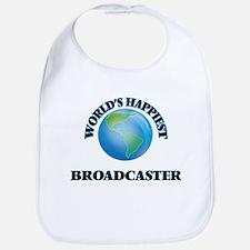 World's Happiest Broadcaster Bib