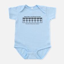 Happy Skier Forecast Infant Bodysuit