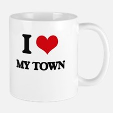 I love My Town Mugs