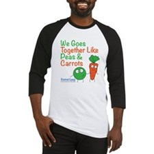 Peas And Carrots Baseball Jersey