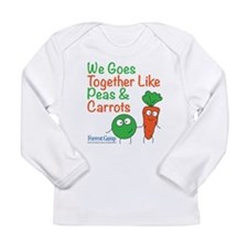 Peas And Carrots Baby Long Sleeve T-Shirt