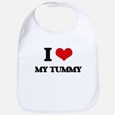 I love My Tummy Bib