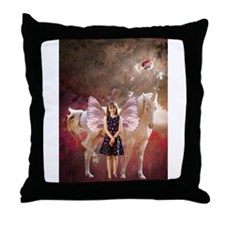 Cute Moonduster Throw Pillow