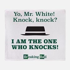 Breaking Bad Knock Knock Joke Throw Blanket
