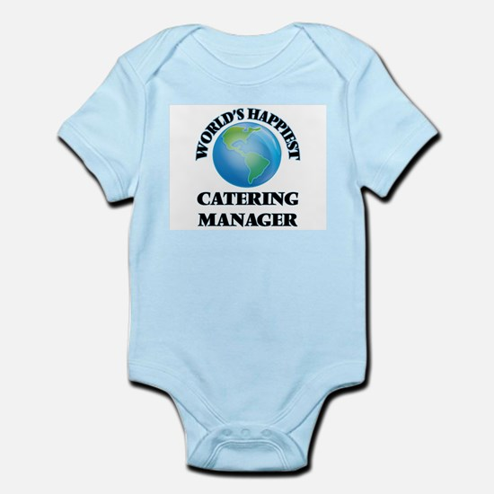 World's Happiest Catering Manager Body Suit