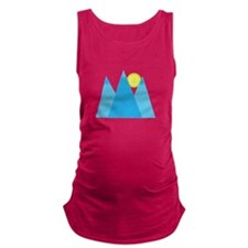 Mountains Maternity Tank Top