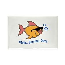 FISH AHHH SUMMER DAYS Magnets