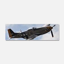 P-51D Mustang Car Magnet 10 x 3