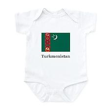 Turkmenistan Turkmen Heritage Infant Bodysuit
