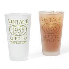 Vintage 1955 Drinking Glass