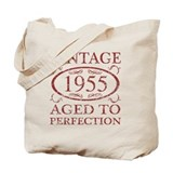 1955 birthday Totes & Shopping Bags