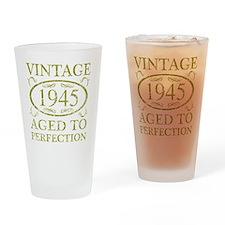 Vintage 1945 Drinking Glass