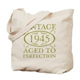 Aged to perfection 70th Totes & Shopping Bags