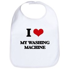 I love My Washing Machine Bib