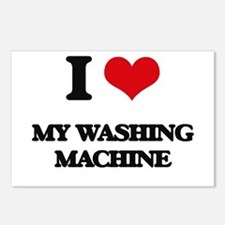 I love My Washing Machine Postcards (Package of 8)