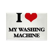 I love My Washing Machine Magnets