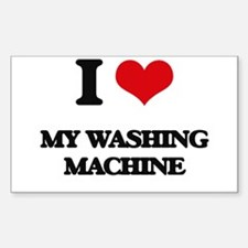 I love My Washing Machine Decal