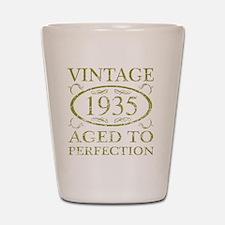 Vintage 1935 Shot Glass