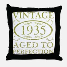 Vintage 1935 Throw Pillow