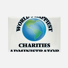 World's Happiest Charities Administrator Magnets