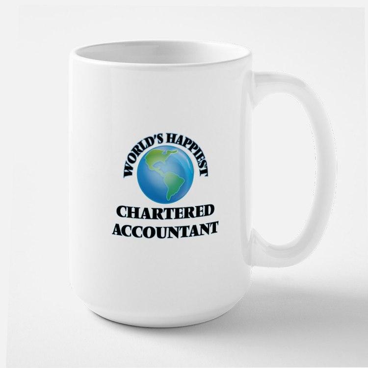 World's Happiest Chartered Accountant Mugs