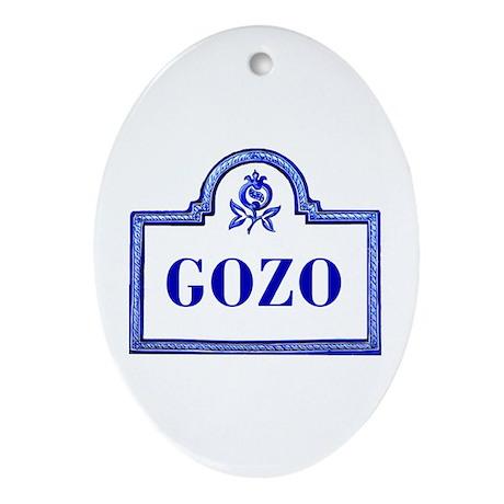 Gozo, Granada - Spain Oval Ornament
