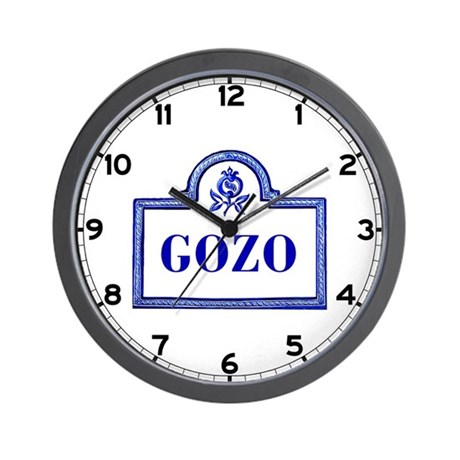 Gozo, Granada - Spain Wall Clock