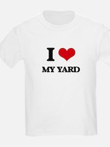 I love My Yard T-Shirt