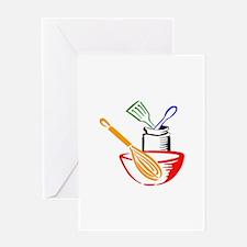 COOKING UTENSILS Greeting Cards