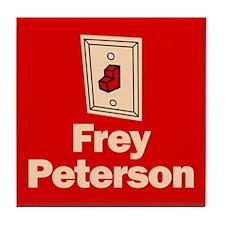 Tile Coaster. Frey Peterson.