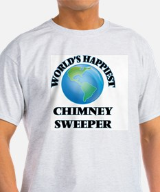 World's Happiest Chimney Sweeper T-Shirt