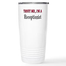 Unique Medical receptionist Travel Mug