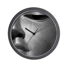 FACES OF BUDDHA Wall Clock