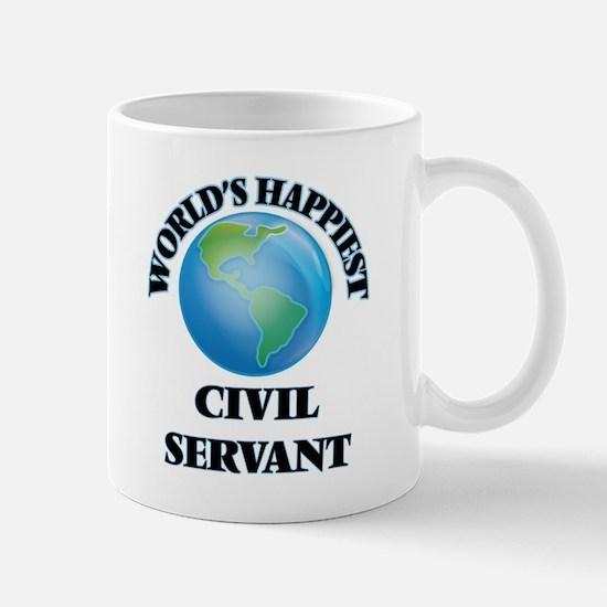 World's Happiest Civil Servant Mugs