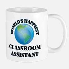 World's Happiest Classroom Assistant Mugs