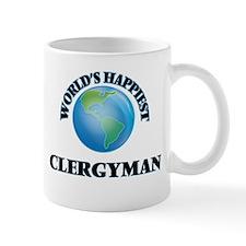 World's Happiest Clergyman Mugs