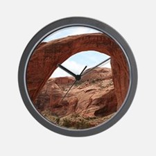 Rainbow Bridge Arch, Utah, USA Wall Clock