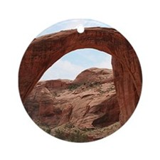 Rainbow Bridge Arch, Utah, USA Ornament (Round)