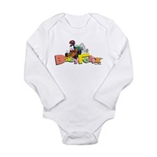 Cute No cat Long Sleeve Infant Bodysuit