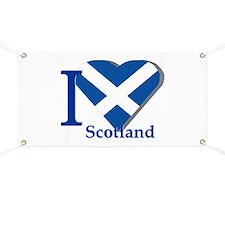 I love Scotland Banner