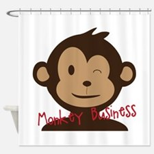 Primates Shower Curtains
