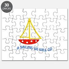 SAILING WE WILL GO APPLIQUE Puzzle
